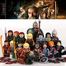 16pcs Lord of the Rings Aragorn Theoden Elrond Boromir DIY Minifigures Toys Gift