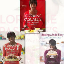 Lorraine Pascale Collection 3 Books Set Baking Made Easy,Fast,Fresh & Easy Food