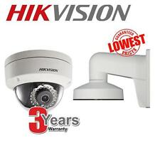 Hikvision DS-2CD2142FWD-I 4 MP CCTV IP PoE Vandalproof Outdoor Camera + Bracket