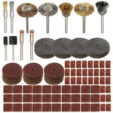 151pcs Rotary Tool Accessories Set for Dremel 1/8 Inch Shank Cutting Sanding Pol