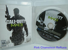 Call of Duty: Modern Warfare 3 (Sony PlayStation 3, 2011) COMPLETE NO SCRATCHES