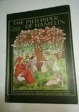 THE PIED PIPER OF HAMELIN by Robert Browning 1st Published 1888 Hardcover