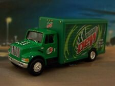 INTERNATIONAL MOUNTAIN DEW DELIVERY TRUCK 1/64 COLLECTIBLE DIORAMA MODEL