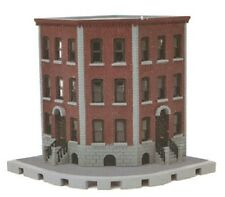 Tomytec Corner Brownstone Apartment N gauge kit Tomix Japan 256281