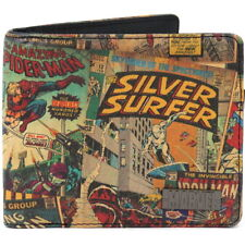 NEW OFFICIAL Marvel Comics Classic Comic Mens Boys Retro Vintage Bi-Fold Wallet