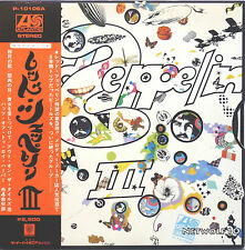 Led Zeppelin - III - LP + Poster - Japan Press with OBI