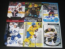"MALCOLM SUBBAN autographed '15/16 BOSTON BRUINS ""Next in Line"" rookie card"