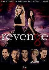 Revenge: The Complete Fourth and Final Season 4 (DVD, 2015) Ships in 12 hours!!!