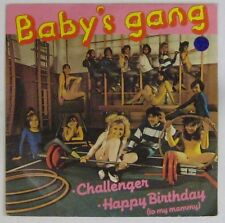 Baby's Gang 45 Tours Challenger 1985