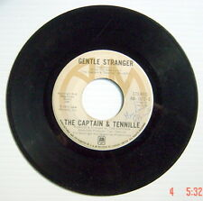 ONE 1975's 45 R.P.M. RECORD, THE CAPTAIN & TENNILLE, LOVE WILL KEEP US TOGETHER