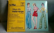 Magic Fit Master Pattern for Pants by AFI Designing with Dusan 1976 vintage sew