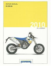 Husaberg service manual 2010 FS 570 EU