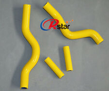 Silicone Radiator Hose for SUZUKI RM 250 RM250 2001-2008 YELLOW