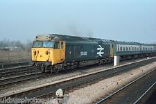 British Rail Class 50 50043 Oxford Sidings 18/02/84 Rail Photo
