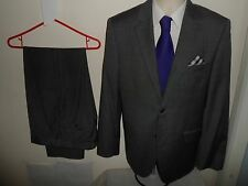 VGC* 40R (34X32) FELLINI SLATERS Mens 2 PIECE Suit Single Breasted 40R W34 L32