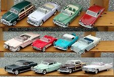 CLASSIC CARS OF THE '50 SET OF 12 BROCHURES ONLY SHRINK WRAP!