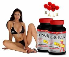 Male Enhancement - LONGJACK - Macca - Tongkat Ali - L-Arginine - 2 Bot 120 Ct