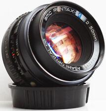 Pentax 50mm F/2 SMC K PK Mount Prime Lens For DSLR M4/3 Camera + Samples