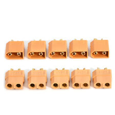 New 5 Pairs/Set XT60 Male + Female Bullet Connectors Plugs for RC Lipo Battery