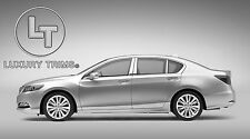 Acura ILX Stainless Steel Chrome Pillar Posts by Luxury Trims 2013-2015 (6pcs)