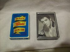 TWO SEALED DECKS OF ELVIS PRESLEY PLAYING CARDS FREE SHIPPING