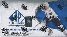 2008-09 (2009) Upper Deck SP Authentic Hockey Factory Sealed Hobby Box - 3 Autos