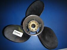 NEW POWERTECH Prop 15 Pitch 3-Blade # 318-688-1970 Stainless Steel Propeller