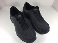 Propet McLean Canvas Tie Black Men's Size 9 5 E (XX) Orthotic Walking Shoes