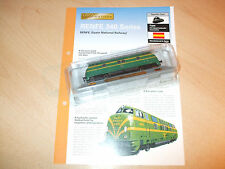 RENFE 340 Series Spanish Locomotive - N Gauge 1.160 + Fact Sheet - New & Sealed
