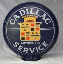 CADILLAC SERVICE GAS PUMP GLOBE SIGN 13.5""