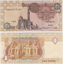 Egypt 1 Pound 2007 P-50l.1 NEUF UNC Uncirculated Arabic Banknote