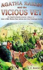 Agatha Raisin and the Vicious Vet M.C. Beaton Very Good Book