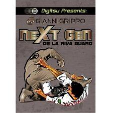 Gianni Grippo Next Gen De La Riva Guard Jiu Jitsu Instructional DVD Digitsu