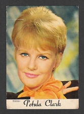 Petula Clark Vintage 1960s Pop Rock Music Card from France