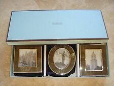 NEW RESTORATION HARDWARE MOTHER OF PEARL PICTURE FRAME  SET OF 3