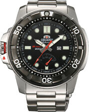 Orient SEL06001B Men's M-Force Beast Diver Power Reserve Automatic Watch