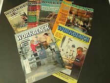 Vintage Workbench Magazine Lot 1976-1981 Do It Yourself Projects Maintenance