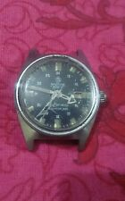 Vintage Mortima super 28, cr case, 35mm,winding men watch for parts