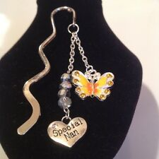 Special nan with butterfly book mark