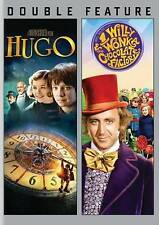 Hugo/Willy Wonka (DVD, 2014, 2-Disc Set) NEW, free shipping