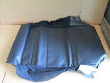 VW GOLF CABRIOLET SEAT BASE COVER LEATHER 1E0881405BCKWA NEW GENUINE VW PART