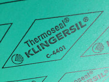 "New Thermoseal Klingersil C-4401 Synthetic Sheet Gasket 1/16"" x 6"" x 6"""