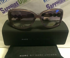Marc Jacobs PURPLE 56mm Sunglasses w/ Case MMJ321/S BRAD NEW!  Fast Shipping!
