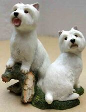 COUNTRY ARTISTS PUPPIES -WEST HIGHLAND TERRIERS FIGURINE, ITEM 4432