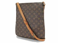 Authentic LOUIS VUITTON Musette Salsa GM Monogram Cross Body Shoulder Bag #24939