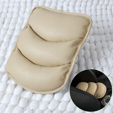 Hotsale Beige CAR CENTER CONSOLE ARMREST TOP MAT LINER COVER CUSHION SUPPORT