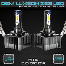 Stark 72W 7600LM Headlight LED Canbus Conversion Kit 6000K White D1S D1R D1C (B)