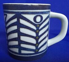 1970 Royal Copenhagen Fajance Annual Mug Small Dorthe Schierup Design 6 Ounce