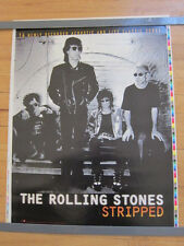 ROLLING STONES Stripped promo poster 18x24 Printers Proof