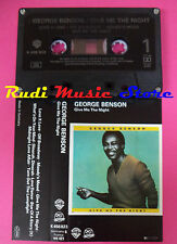 MC GEORGE BENSON Give me the night 1980 germany WARNER K 456823 no cd lp dvd vhs